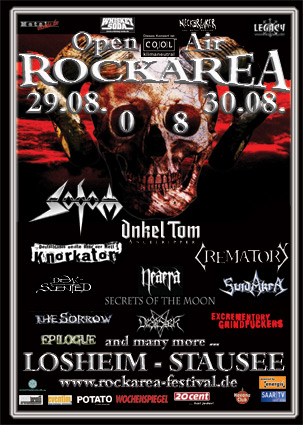 Rock Area Festival 2008 - www.rockarea-festival.de