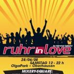 Spielplan Ruhr in Love