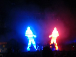 The Chemical Brothers auf dem Hurricane