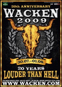 Wacken Tickets 2009