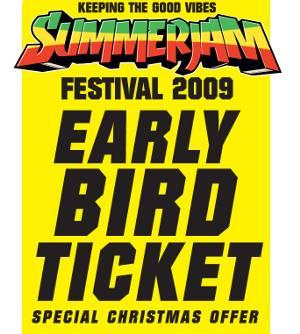 Summerjam Tickets