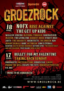 groezrock 2009 lineup