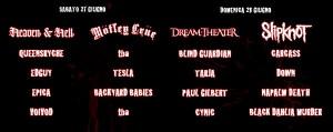 godsofmetal lineup2009