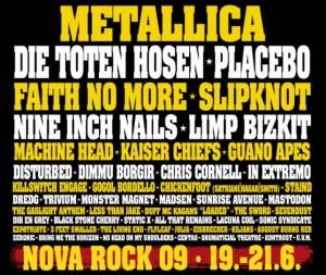 nova rock bands