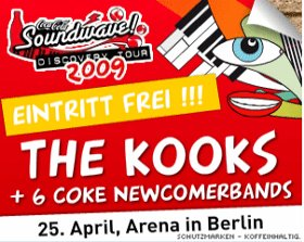 soundwave discovery the kooks berlin