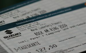 rock am ring ticket 2009