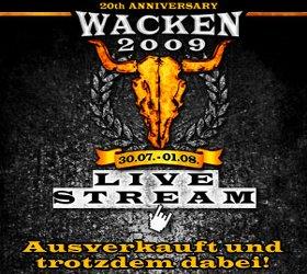 wacken 2009 livestream