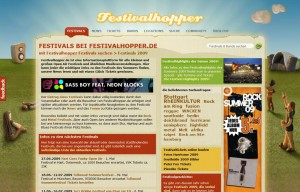 festivalhopper design 2009