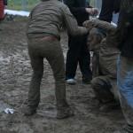 Schlammcatchen auf dem Southside 2009