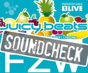 juicy beats soundcheck