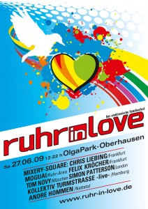 ruhr in love 2009 -plakat