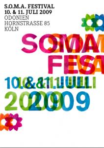 soma festival flyer