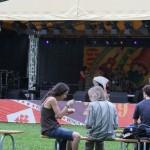 Bühne am Theaterplatz vom TFF 2009