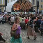 Große Bühne auf der Heidecksburg beim TFF 2009