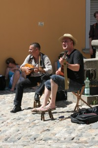 Straßenmusiker beim TFF 2009