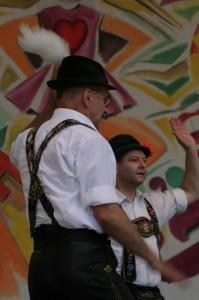 d'Schwuhplattler auf dem TFF 2009