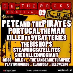 on the rocks flyer2009