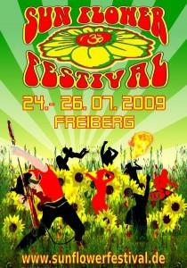 sun flower festival flyer