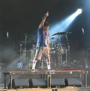 Sänger der Deftones Chino