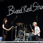 Blood Red Shoes auf dem Southside 2009