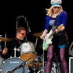 The Ting Tings auf dem Souhtside 2009