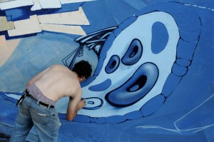 Graffiti Meeting at FOKUS 2009