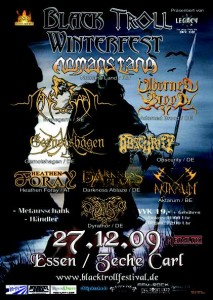 blacktroll winterfest plakat
