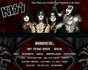 bands graspop 2010 kiss