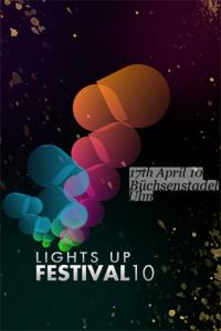 lightsup festival 2010 plakat