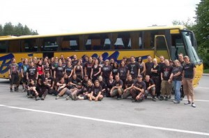 metalcamp reisebus