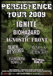 persistence-tour-Plakat
