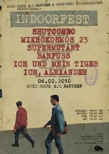 Plakat zum Indoorfest in Bautzen
