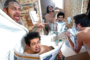 """That's Not a Towel!"" - NOFX press picture"