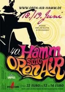 Open Air Hamm Flyer Front 2010