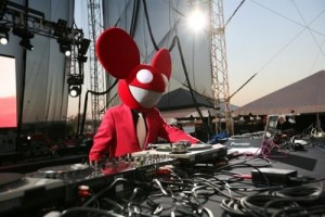 Deadmau5 auf dem Ultra Festival (für Euch mal ein Foto bei Tag ;-))
