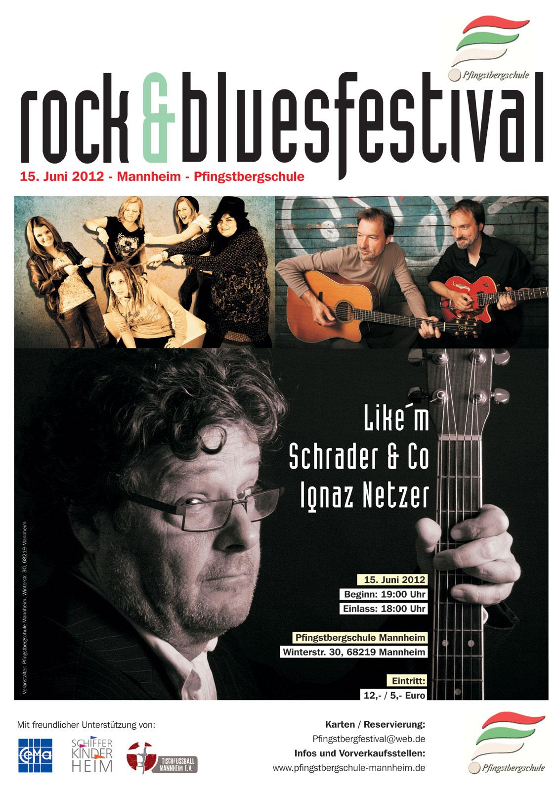 Premiere Pfingstberg Rock Und Bluesfestival Mannheim