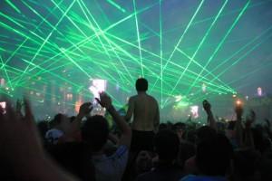 Tomorrowland Lasershow 2012