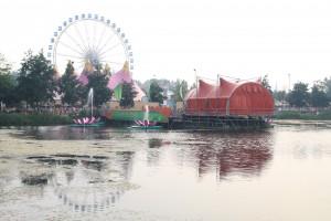 Seebühne Tomorrowland 2012