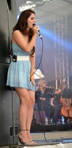 Überzeugte durch ihren Auftritt, Lana del Rey