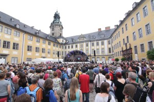 Gong Linna & DaBaiSang + Thüringer Symphoniker Saalfeld-Rudolstadt auf dem TFF 2012