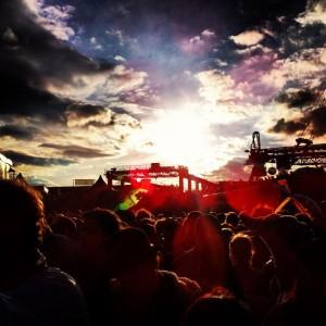 melt festival 2012 freitag abend