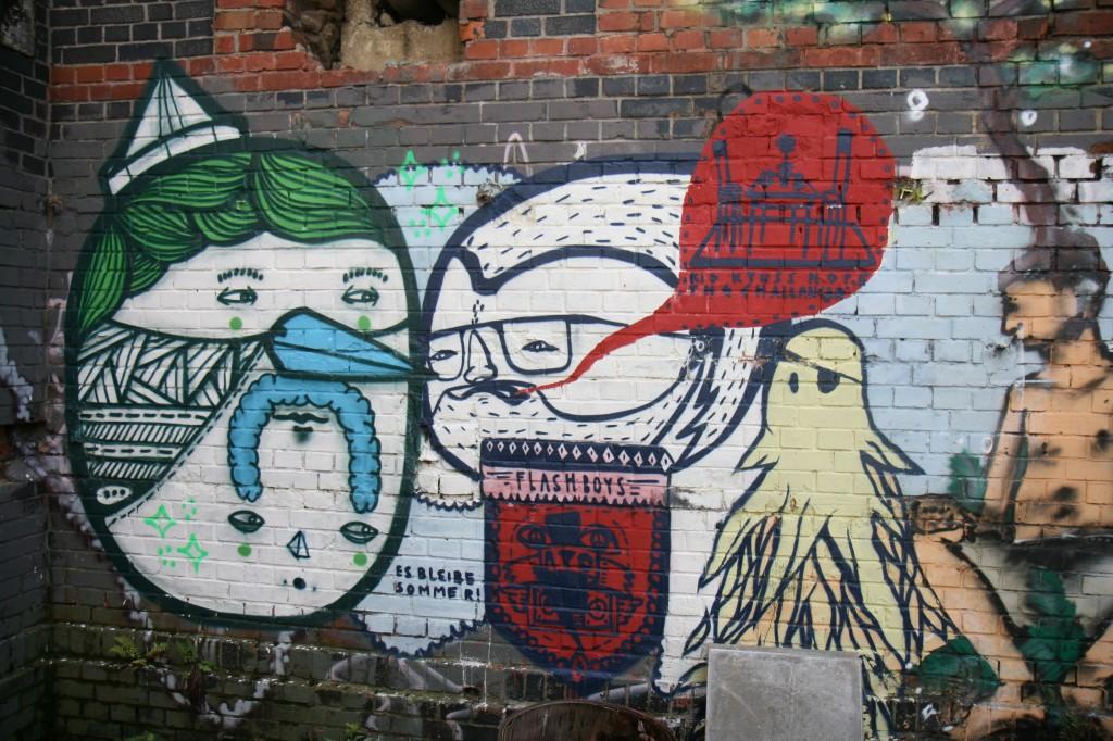 Streetart @ fokus Festival 2011 (Foto: Michael Lippold)