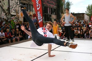 Breakdance auf dem fokus Festival 2012 (Foto: Michael Lippold)