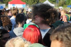 Headbangen beim Green Juice 2012