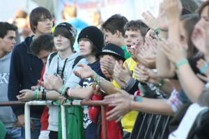 Zuschauer beim Green Juice 2012