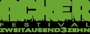 Logo Ackerfestival 2013