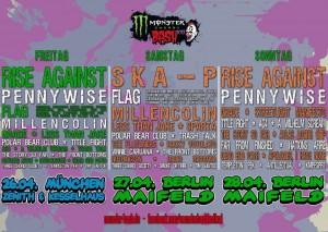 Monster Bash Plakat 2013