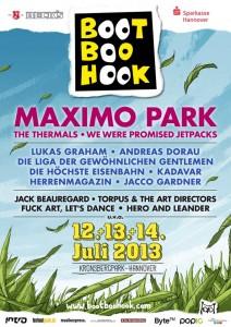 lineup bootboohook 2013 plakat1