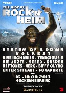 plakat rocknheim 2013
