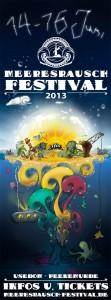 Meeresrausch Festival Flyer 2013